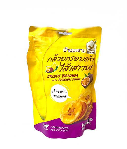 パションフルーツジャムのさくさくバナナ(90g)
